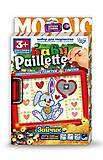 Baby Paillette «Зайчик», PG-01-06, фото