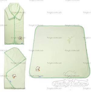 Многофункциональное покрывало Niki, зеленое, 0094-52