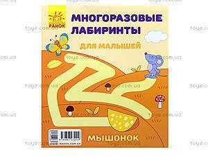 Многоразовые лабиринты «Мышонок», С547001У, отзывы