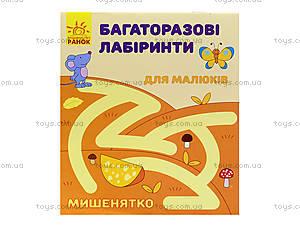 Многоразовые лабиринты «Мышонок», С547001У, цена