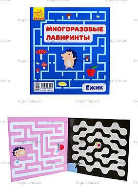 Многоразовые лабиринты «Ёжик», С547003У