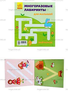 Многоразовые лабиринты «Зайчонок», С547002У