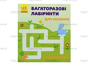 Многоразовые лабиринты «Зайчонок», С547002У, цена