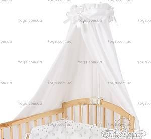 Балдахин на кроватку с зеленой лентой, 0181-52