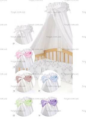 Балдахин на кроватку с зеленой лентой, 0181-52, фото