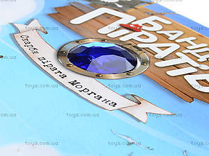 Книга «Банда пиратов: Сокровища пирата Моргана», Р519008У, игрушки
