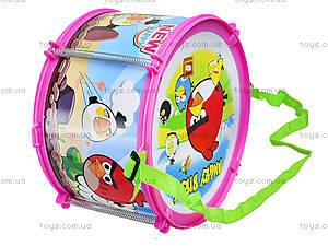 Игрушечный барабан Angry Birds, 116A-123, фото