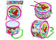 Игрушечный барабан Angry Birds, 116A-123, купить