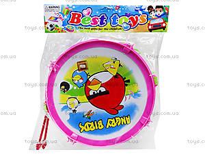 Игрушечный барабан Angry Birds, 116A-123, отзывы