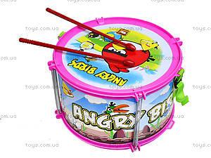 Игрушечный барабан Angry Birds, 116A-123, цена