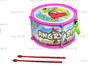 Игрушечный барабан Angry Birds, 116A-123, игрушки