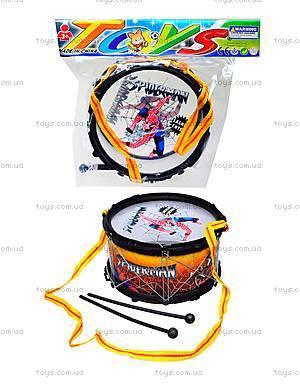Детский барабан Spiderman, 208C