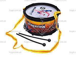 Детский барабан Spiderman, 208C, цена