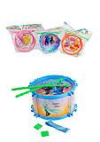 Барабан детский с рисунком, 3 вида, 86626594, фото