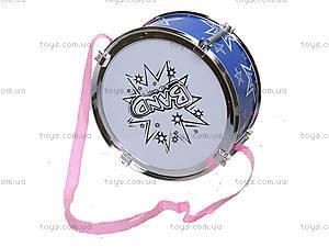 Детский барабан в кульке, 358-32A, фото