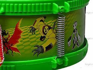 Барабан детский Ben Ten, WD6855AB, фото