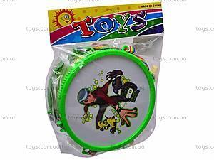 Барабан детский Ben Ten, WD6855AB, игрушки