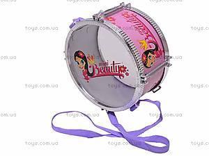 Барабан Mini Beauty, 668-9A, игрушки