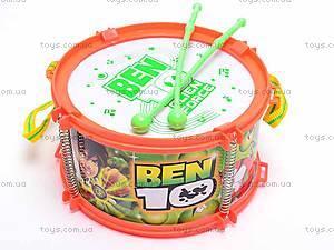 Барабан музыкальный «Бен 10», FD3388, фото