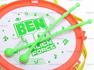 Барабан музыкальный «Бен 10», FD3388, игрушки