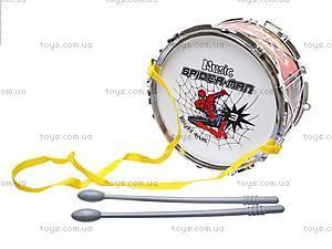 Барабан с палочками Спайдермен, 118A, отзывы