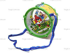 Музыкальный барабан с веревочкой в пакете, 688-51A, фото