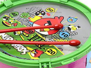 Музыкальный барабан с веревочкой в пакете, 688-51A, цена
