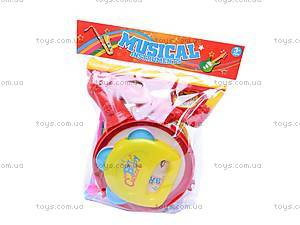 Барабанчик с музыкальными инструментами, 03626-14, цена
