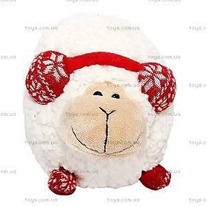 Мягкая игрушка «Барашек в наушниках», 25 см, 54-9580-10