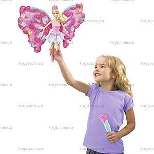Барби Фея «Цветочное превращение», розовая, W2969, фото