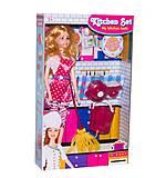 Барби Повар с кухонным набором, JX100-85, фото