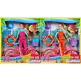 Барби с велосипедом и спасательным кругом, JX100-67B (1574387), купить