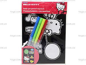 Бархатная раскраска Hello Kitty, HK14-157K