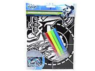 Бархатная раскраска Max Steel, MX14-157K