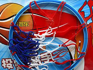 Игровое баскетбольное кольцо, ZS1688G, игрушки