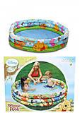 Бассейн надувной детский «Винни Пух», 58915, фото
