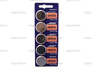 Батарейка 2032/5, Sony, 2032 BL5, купить
