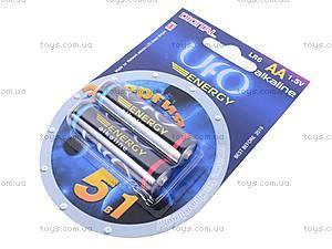 Батарейка AA, 2 штуки, Energy, LR-06 BL2