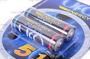 Батарейка AA, 2 штуки, Energy, LR-06 BL2, фото