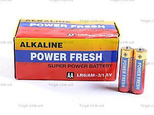 Батарейка AA, 4 штуки, Power Fresh, LR-06