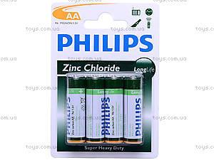 Батарейка AA, Philips, R-06 BL4