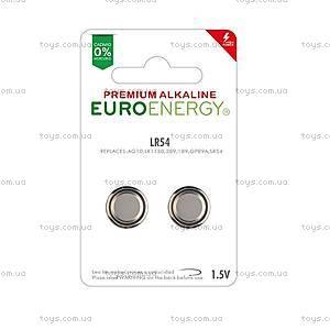 Батарейка AG10 (LR1130) Premium Alkaline, AG10/LR1130
