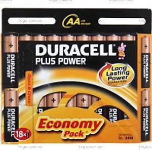 Батарейка DURACELL  1х18 шт.,