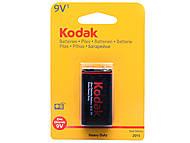 Батарейка «Крона», Kodak, 6F22 BL1, детские игрушки