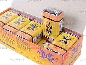 Батарейка «Крона», X-Digital, 6F22, фото