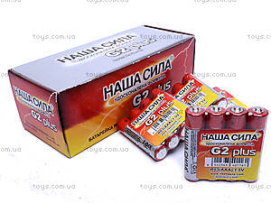 Батарейка «Наша Сила» типа AAA , R-03