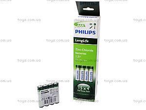 Батарейка Philips AAА, R-03