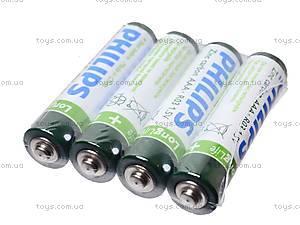 Батарейка Philips AAА, R-03, фото
