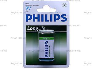 Батарейка Philips (Крона) , 6F22 BL1