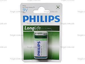 Батарейка Philips Крона, 6F22